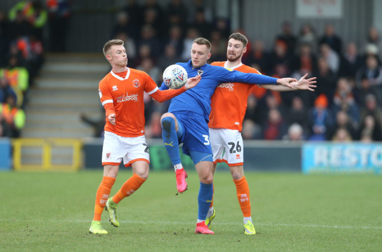 AFC Wimbledon v Blackpool - Sky Bet League One
