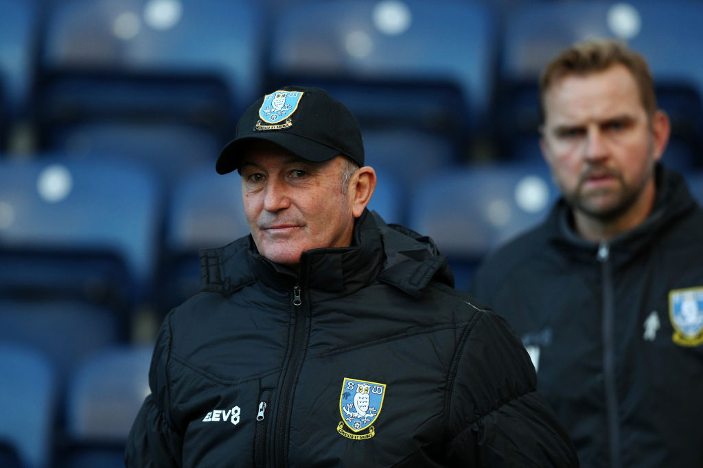 Tony Pulis heads into his second game as Sheffield Wednesday manager against Swansea.