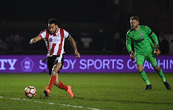 Lincoln City v Ipswich Town - The Emirates FA Cup Third Round Replay