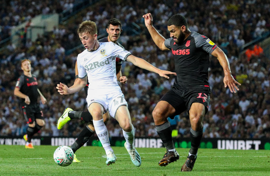 Leeds United v Stoke City - Carabao Cup Second Round