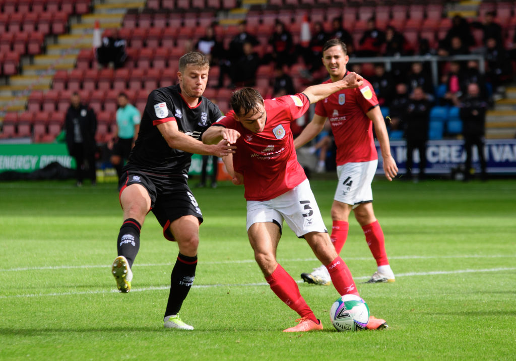 Crewe Alexandra v Lincoln City - Carabao Cup First Round